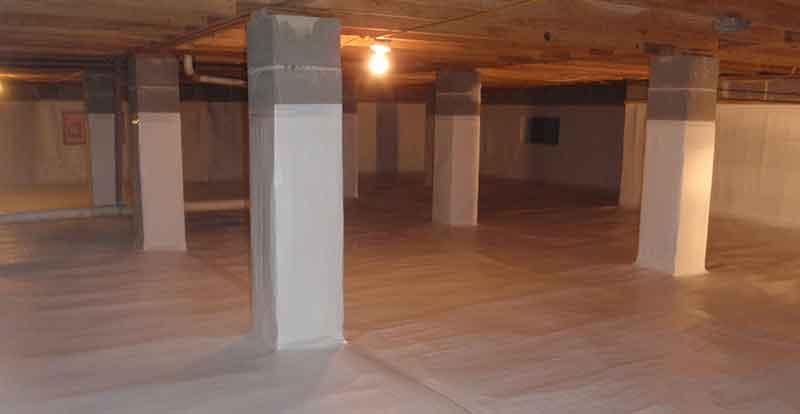 Engineered Basement Foundation
