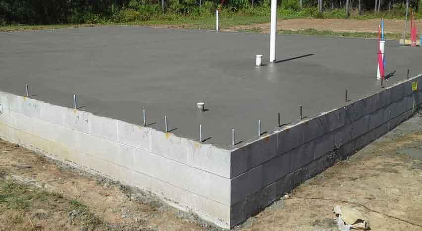 Engineered Stem Wall Foundation